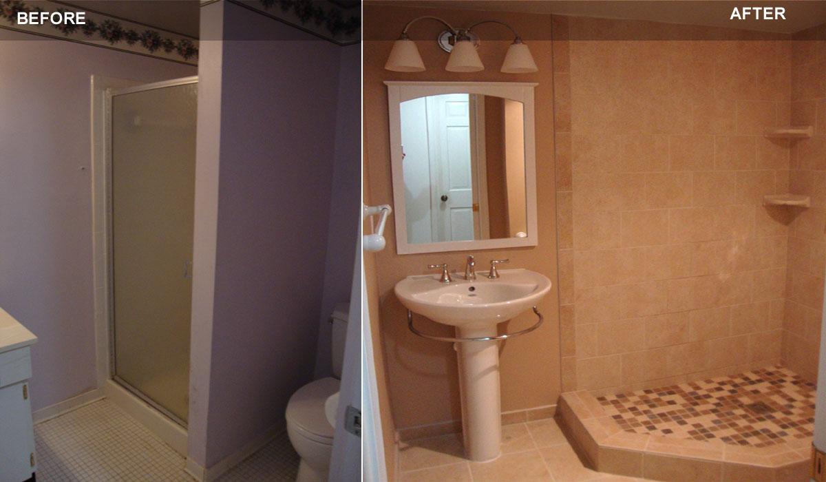 Bathroom remodeling montgomery co md handyman services - Bathroom remodeling gaithersburg md ...