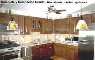 Bethesda MD cabinets installed new kitchen